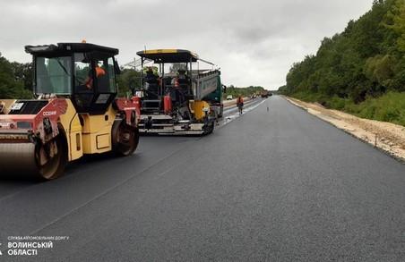 На Волині триває ремонт ділянки автодороги М-07 Київ – Ковель – Ягодин