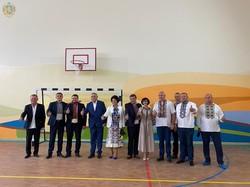 У селі Верхня Білка біля Львова відкрили добудовану школу
