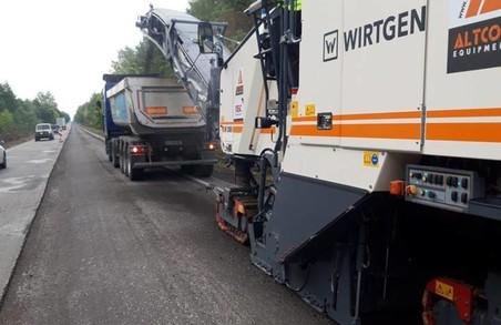 На Волині почали ремонт на першій із шести ділянок автотраси М-19 Доманове – Ковель – Чернівці – Тереблече