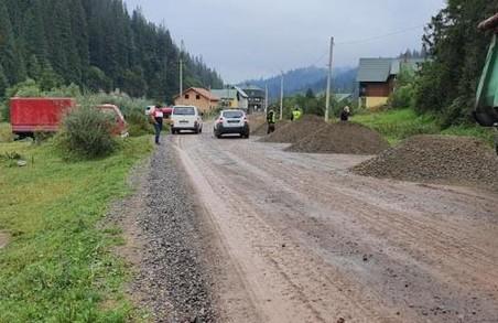 У Сколівському районі на Львівщині ремонтують автодорогу Славське – Хащованя