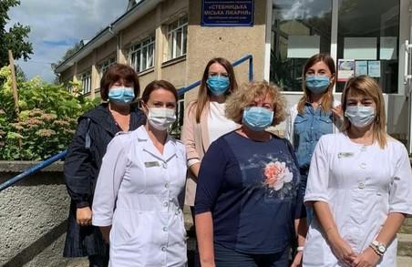 Стебницьку міську лікарню на Львівщині інспектувала представник Національної служби здоров'я України