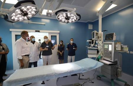 У Львові в міській дитячій лікарні на Пилипа Орлика створюють відділення невідкладної допомоги