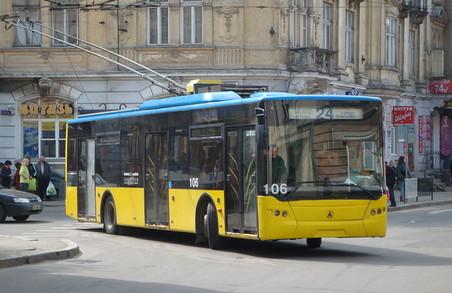 «Львівелектротранс» накупив запчастин для тролейбусів ЛАЗ більш на два мільйони гривень