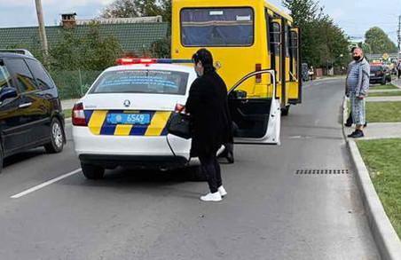 У Винниках під Львовом водій автобуса «під кайфом» збив дитину