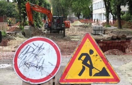У Львові і далі ділянка вулиці Балабана буде закрита для руху