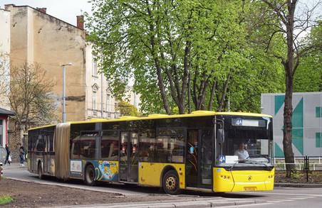 Львівські автобуси-«гармошки» поки не ремонтуватимуть