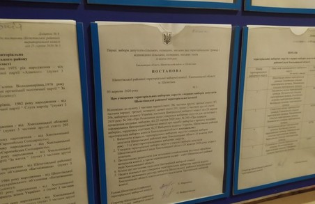 Шепетівська РВК визначила округи для голосування до Шепетівської райради