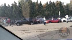 У Львові на вулиці Княгині Ольги за дві години сталося дві ДТП