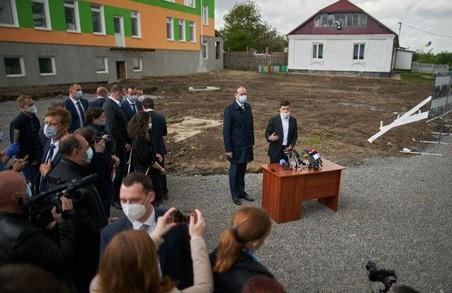 Садок на Хмельниччині, який відкривали особисто Зеленський зі Шмигалем, не працює досі