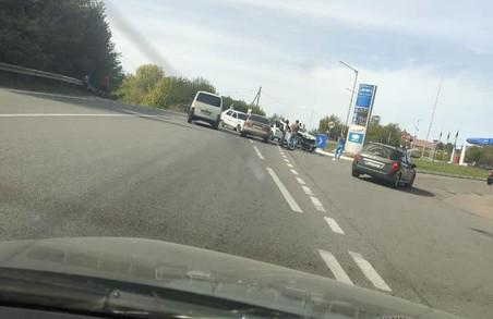 У місті Бібрка на Львівщині сталася автотроща