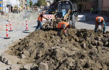 У Львові ремонтують вулицю Лисенка