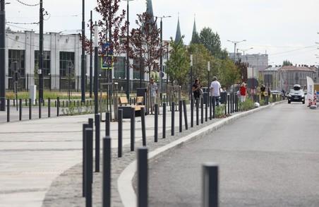 У Львові для проїзду відкрили частину вулиці Чернівецької