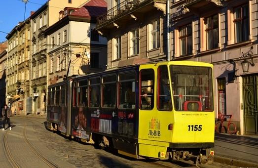 На час реконструкції вулиці Степана Бандери у Львова трамвай «одиничка» курсуватиме на Погулянку