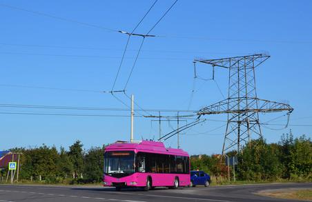 У Луцьку обкатують нові тролейбуси для Кременчука
