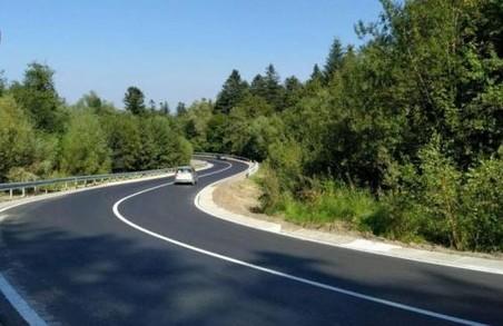 На Львівщині ввели в експлуатацію оновлену автодорогу Східниця – Пісочна