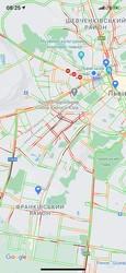 У Львові закрили для проїзду ділянку вулиці Степана Бандери