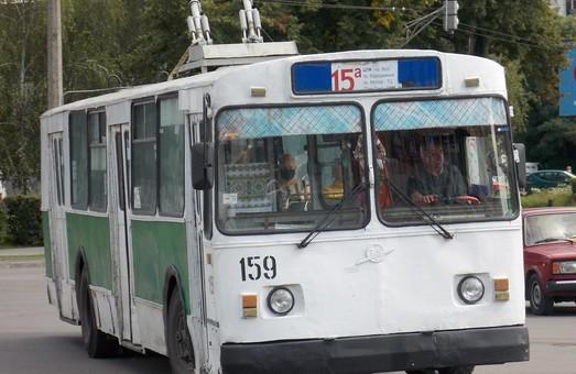 У Луцьку небайдужі фанати виготовили маршрутні таблички для тролейбусів