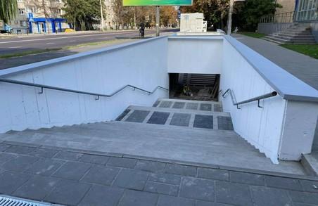 У Львові відремонтували підземний перехід на вулиці Городоцькій