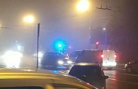 У Львові на вулиці Стрийській сталося ДТП за участю карети швидкої допомоги