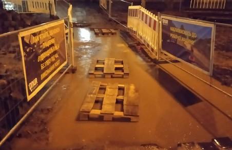 Ремонт вулиці Степана Бандери створює незручності для львів'ян