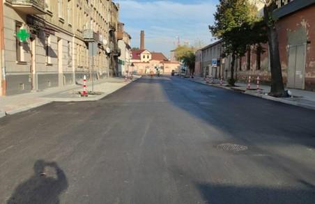 У Львові відкрили рух на ділянці вулиці Богдана Хмельницького