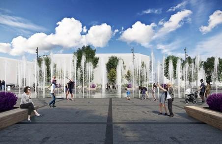 Садовий обіцяє, що фонтан перед Львівською оперою почне працювати уже в середині жовтня