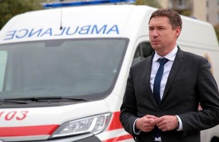Львів і Львівщина отримали нові автомобілі швидкої медичної допомоги
