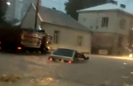 Під час учорашньої зливи у Тернополі випала майже половина місячної норми опадів