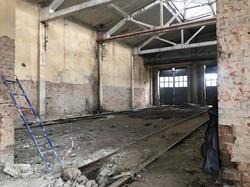 У Львові відновилася реконструкція трамвайного депо № 2 на Підзамчі