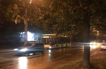 У Львові на вулиці Мазепи завмерли тролейбуси 33-го маршруту