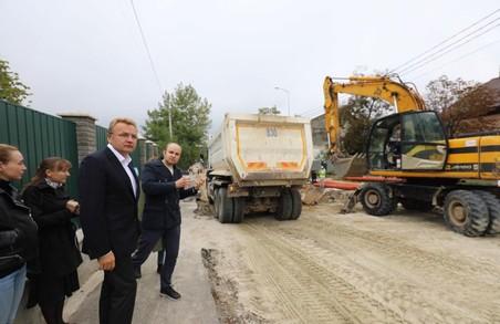 Основні роботи із капремонту вулиці Личаківської обіцяють завершити до кінця жовтня