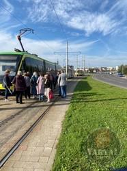 У Львові на Сихові велосипедист потрапив під трамвай