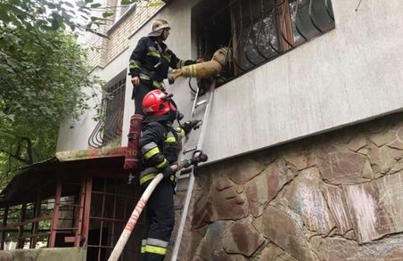 У Львові в житловому будинку на вулиці Стрийській сталася пожежа