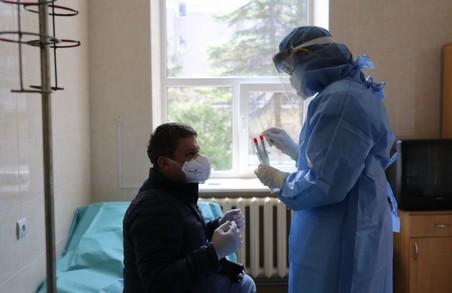 На Львівщині немає черги на ПЛР-тестування на коронавірус