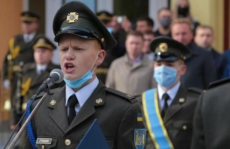 У Львові майже 200 військових ліцеїстів склали Урочисту Клятву на вірність Україні