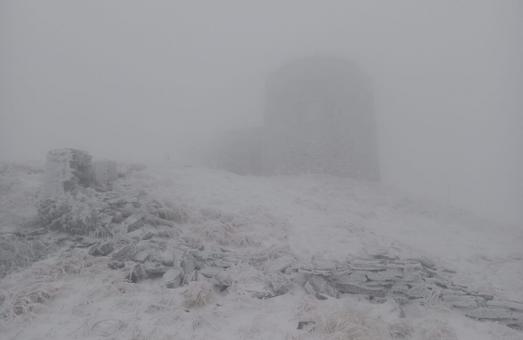 У Карпатах уже випав сніг