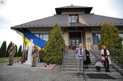 У Нагуєвичах на Львівщині відкрили пам'ятник сину Івана Франка Петрові