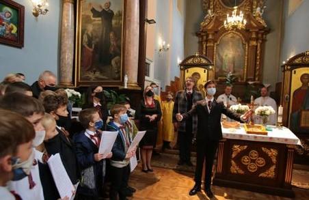 Львівська хорова капела «Дударик» відсвяткувала своє 49-річчя