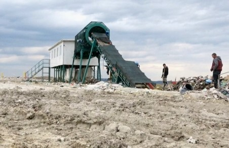 У Тернополі модернізують сміттєвий полігон – тут запроваджено процес сортування та завершується влаштування станції дегазації