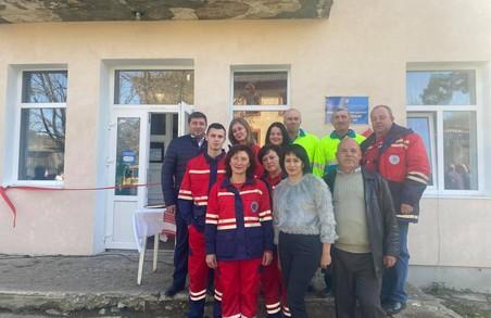 На Львівщині у селі Верхнє Висоцьке Турківського району відкрили новий Пункт екстреної медичної допомоги