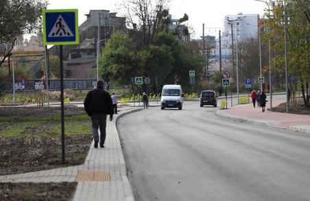 У Львові завершили ремонт вулиці Генерала Курмановича