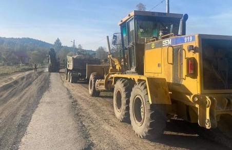 До кінця року на Львівщині планують відремонтувати 13 кілометрів автодороги Стрілки – Новий Кропивник