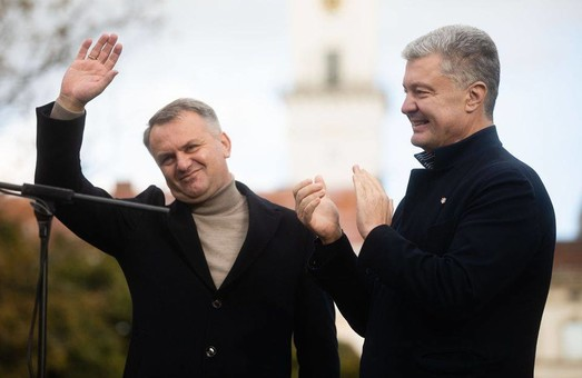 На перегонах на посаду міського голови Львова скорочується розрив між Садовим та Синюткою