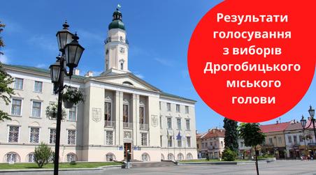 У Дрогобичі на Львівщині уже підбили результати голосування на виборах міського голови