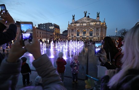 У понеділок 9 листопада у Львові свою роботу до наступного року призупиняють усі фонтани