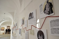 Життєвий шлях Андрея Шептицького зображено на стендах в музеї