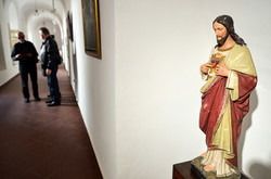 В коридорах музею Андрея Шептицького