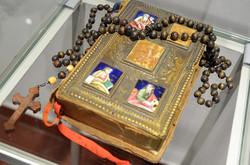 Особисте Євагнеліє XIX ст, яке Шептицький привіз з Святої Землі