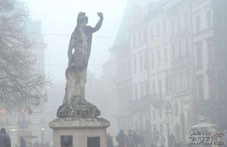 Львів'янам та мешканцям області обіцяють туман та ожеледицю