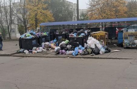 У Львові на Сихові знову переповнені смітники